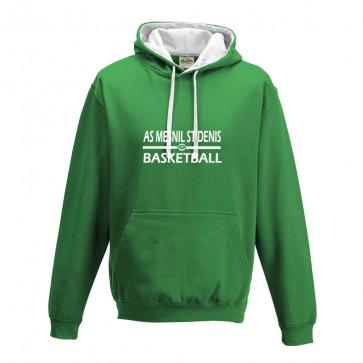Sweat contrasté Vert/ Blanc ASMD Basketball