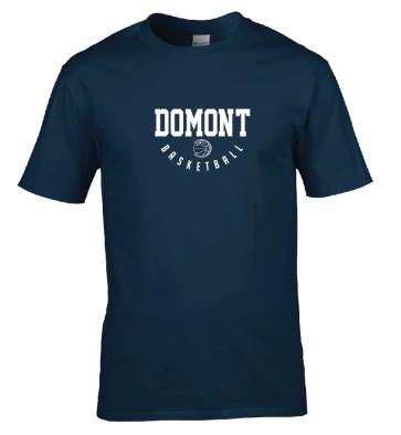 T-shirt Navy Domont Basket