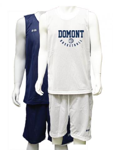 Ensemble Reversible Navy Blanc Domont Basket