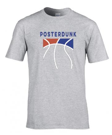 T-shirt Gris Posterdunk