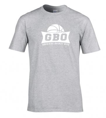 T-shirt Gris Gouvieux Basket