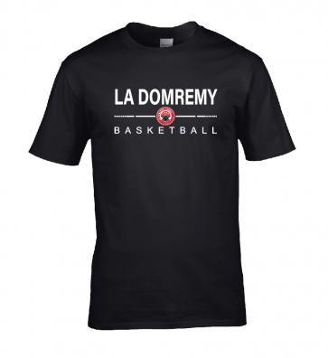 T-shirt Noir La Domremy Basket
