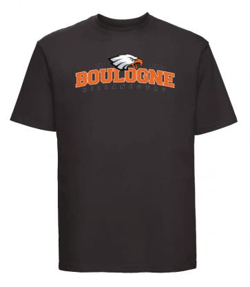 T-shirt Noir Unisexe logo face ACBB Basket