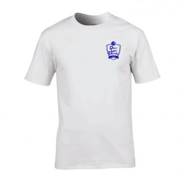 T-shirt Blanc Unisexe PLB