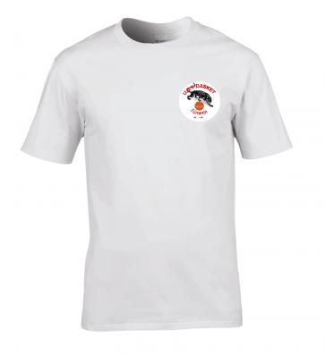T-shirt manches courtes Blanc logo coeur UST BASKET