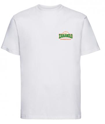 T-shirt Blanc Zarasclo Basket