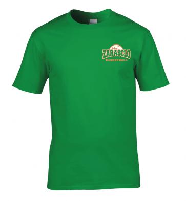 T-shirt Vert Zarasclo Basket