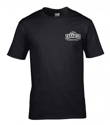 T-shirt Noir Zarasclo Basket