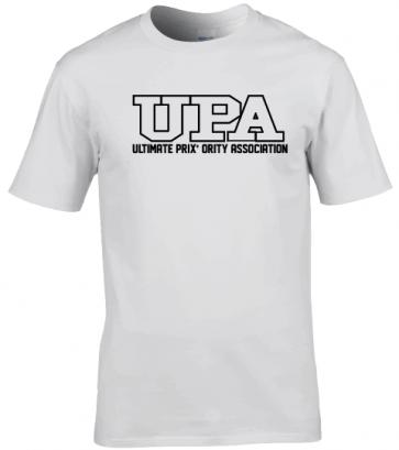 T-shirt coton blanc UPA