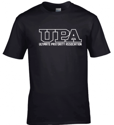 T-shirt coton noir UPA