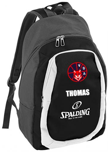 Sac à dos Spalding noir Valenton Basket