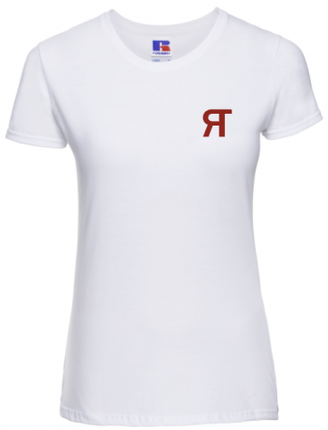 T-shirt Russell coupe femme Referee Time