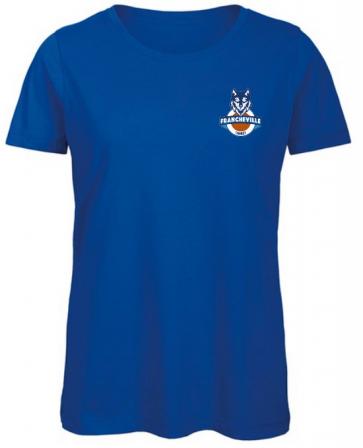 T-Shirt uni manches courtes femme Francheville