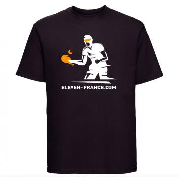 Tshirt premium noir Eleven