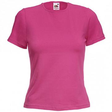 T-shirt manches courtes coupe femme