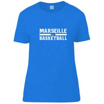 T-shirt femme Royal Marseille Basketball