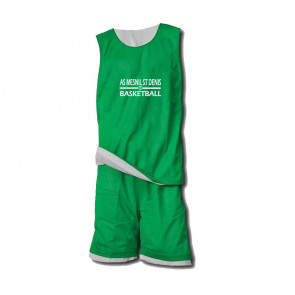 Ensemble Reversible Vert Blanc AMSD Basketball