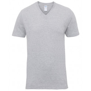T-shirt manches courtes Col V Gildan Unisexe