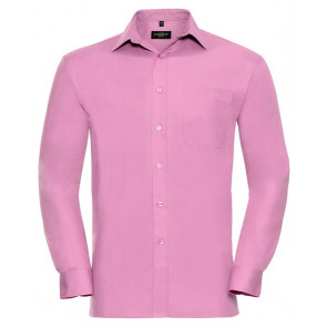 Chemise manches longues popeline Russell Unisexe