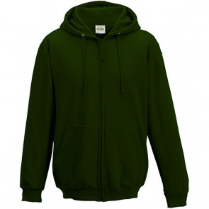 Sweat zip uni capuche