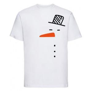 T-shirt Russell Bonhomme de neige