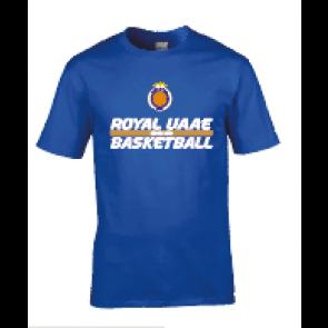 T-shirt Royal UAAE Basket