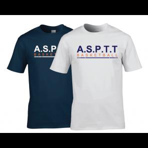 T-shirt manches courtes coupe unisexe ASPTT Boulogne