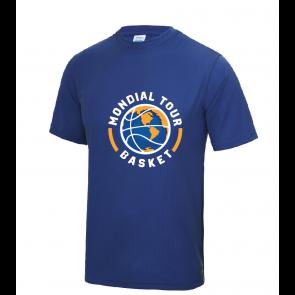 T-shirt polyester Mondial Basket Tour