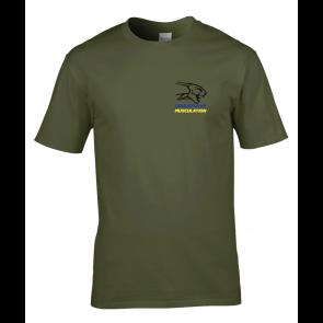 T-shirt vert Courbevoie Musculation