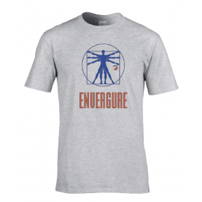 T-shirt Gris Envergure