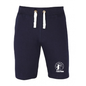 Short navy coton Frepillon Basket