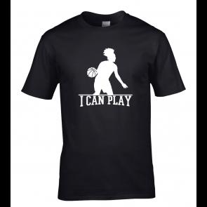 T-shirt Noir I Can Play