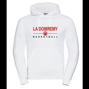 Sweat Russel Blanc La Domremy Basket