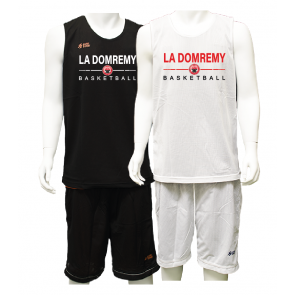 Ensemble Reversible Noir et Blanc La Domremy Basket
