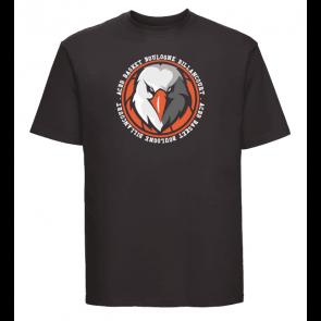 T-shirt Noir Unisexe logo rond ACBB Basket