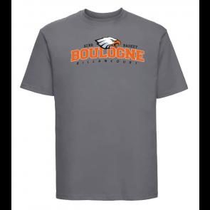 T-shirt Gris foncé Unisexe logo face ACBB Basket