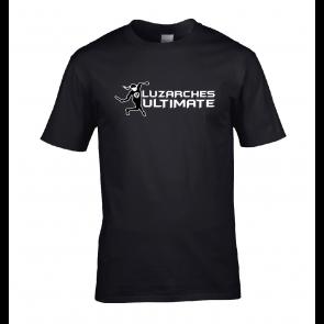 T-shirt Noir design joueuse FU