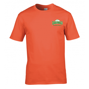 T-shirt Orange Zarasclo Basket