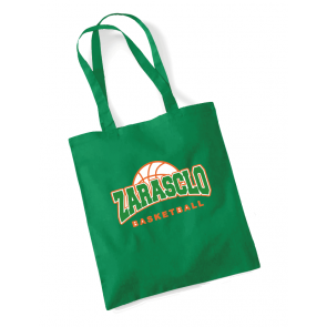 Sac Bandoulière Vert Zarasclo Basket