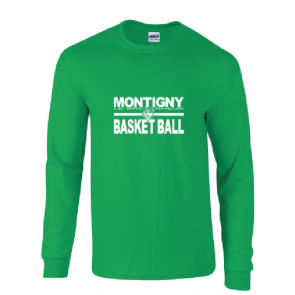 T-shirt Manches Longues Montigny Basket