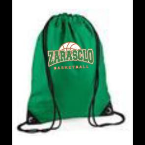 Sac Ficelle Vert Zarasclo Basket