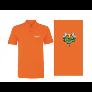 Polo Polyester Orange J'Swing Golf