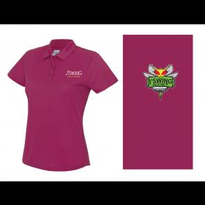 Polo Polyester Rose Femme J'Swing Golf