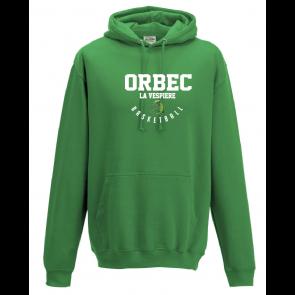 Sweat uni Vert Orbec Basket