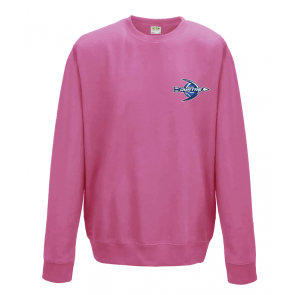 Sweat sans capuche Pink Splash Quatre BasketBall