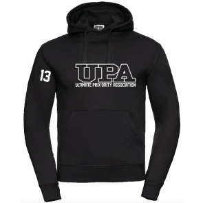 Sweat capuche Russell noir UPA