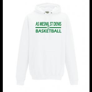Sweat Blanc ASMD Basketball