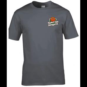T-shirt coton unisexe gris Steenwerck