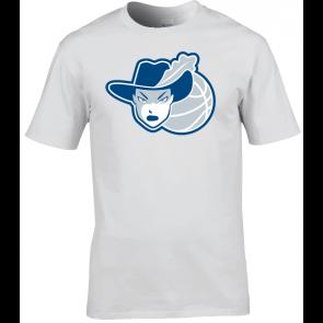 T-shirt Russell Unisexe Logo 2D Femme ELCV