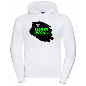 Sweat Russell Blanc Team Fit Lifestyle